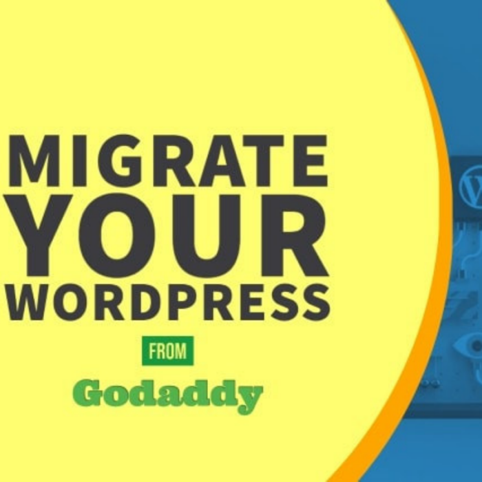 migrate your WordPress from Godaddy gigscare